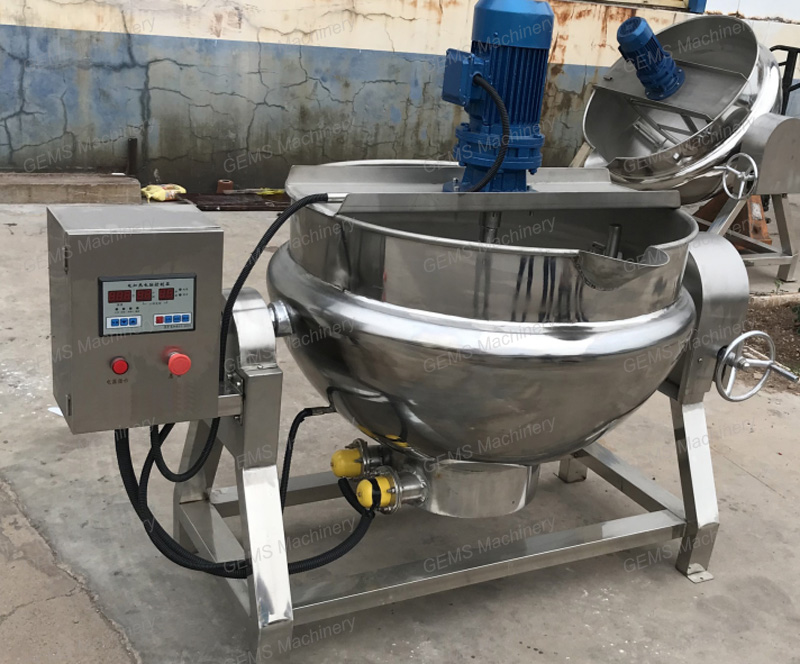 jacketed kettle 8