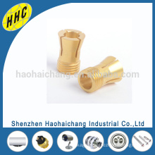 China Manufacturer Custom Design Automatic Turning H65 Brass Pillars