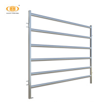 steel cattle yard fence panel and gate