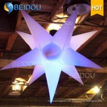 Fábrica Evento Fiesta Decoración Nube Medusas Iluminado Inflable Estrella