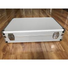 Caja de paquete de aleación de acero inoxidable con espuma recortada