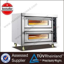 Restaurant Bäckerei Ausrüstung Ofen Elektrische 2-Trays