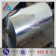 Aluminium-metallisierte Polyesterfolie
