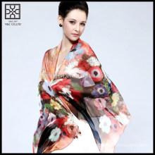 High-end Silk Printed Scarf