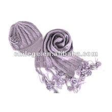ensembles de chapeaux, écharpes et gants en laine