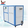 Water cooled industrial chiller unit