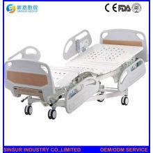 Cuarto de hospital de uso eléctrico de cinco funciones ajustables camas médicas