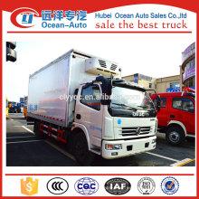 DFAC 4x2 4ton frigorífico congelador camión para el transporte de frutas y hortalizas