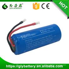 Bateria recarregável do Li-íon de 26650 3.7v 5000mah para o encrespador de cabelo