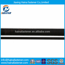 4.8 grade,8.8 grade black zinc plated all threaded rod