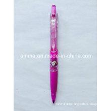 Plastic Transparent Color Mechanical Pencil with Triangle Barrel