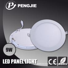 Energieeinsparung 9W LED-Deckenverkleidungs-Licht für Haus