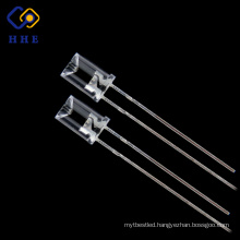 China online selling high brightness 5mm green concave led diodes