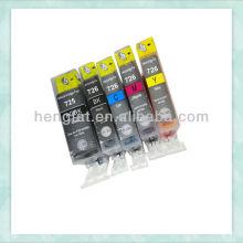 Compatible refill ink Cartridge inkjet cartridge for PGI-725/CLI-726