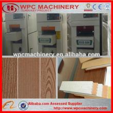 Wpc cepillo de madera wpc máquina de cepillado