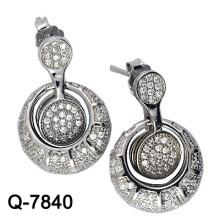 Los últimos estilos Pendientes 925 joyería de plata (Q-7840. JPG)