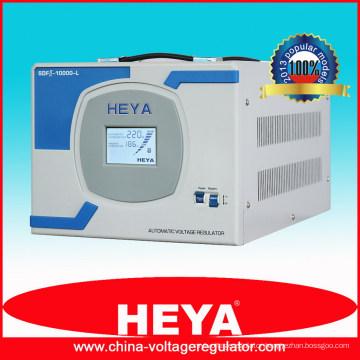 New secondary design 8kw copper winding coil refrigerator voltage regulator in Russia