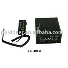 Электронные сирены для автомобилей и полицейской сирены (КМД 400W)