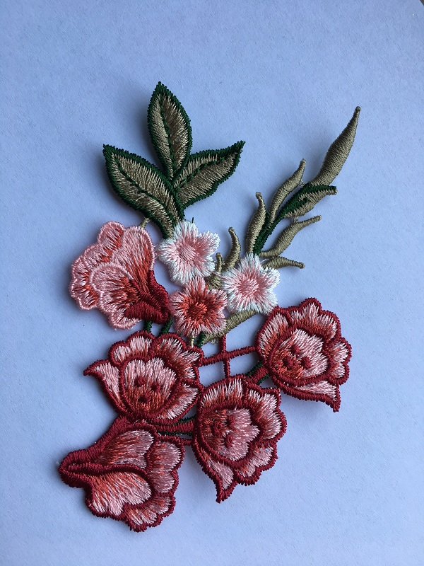 Lace Embroidered Patch