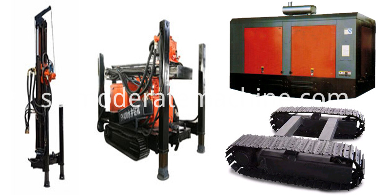 Water Well Drilling Rig Parts