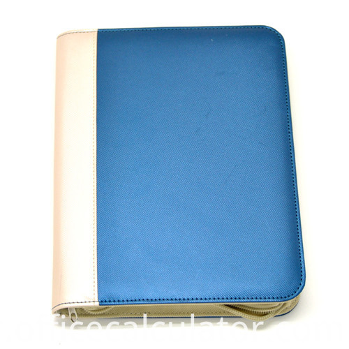 Zippered A4 Notepad Holder for Business