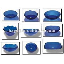 blue transport beautiful Vessel Glass Sink bowl