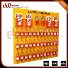 Elecpopular Cheap Goods Safety Industrial Lockout Padlock Station Combination Locks Kit
