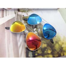 El marco circular, lindo, estilo de moda gafas de sol para niños (m01053)