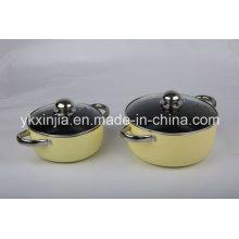 High Quality Aluminum Sauce Pot Set Kitchenware