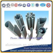 Hecho en China polvo de la provincia de Shandong cubrió el perfil de aluminio de la alta calidad