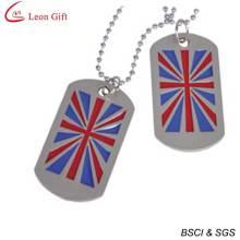 En gros émail UK Flag Dogtag pour cadeau (LM1612)