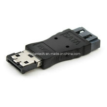 7p eSATA to SATA Adapter Converter