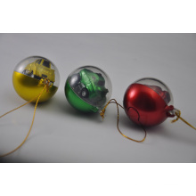 Various Styles Christmas Balls with Christmas Promotional Gift