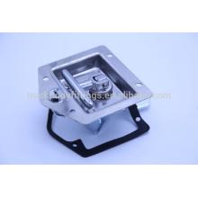 popular stainless steel T bar handle lock/ tool box paddle locks for trucks 012005