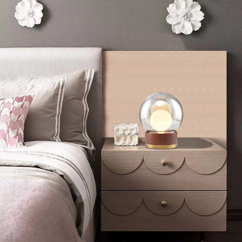 Application Small White Bedside Table Lamps