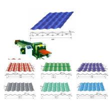 QJ cnc rollo de azulejo que forma la máquina