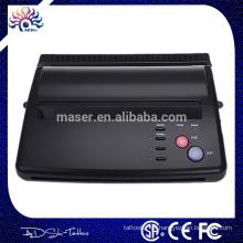 Profissional tatuagem suprimentos China / máquina de tatuagem de maquiagem / máquina de impressão de transferência de tatuagem com USB