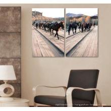 Peinture numérique personnalisée de maison imprimée