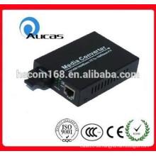 10 / 100M, 20KM, conversión de los medios, convertidor de Ethernet de la fibra