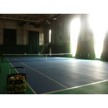 Профессиональный закрытый ПВХ / резиновый теннисный пол