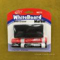 Prateleira do quadro branco com pincel 2 + 1, conjunto de caneta marcador Eraser seco W6312