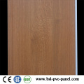 25cm Wood Pattern Laminated PVC Wall Panel Classic and Hotselling PVC