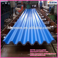 steel roofing tile / color coating roof sheets / corrugated roofing sheets