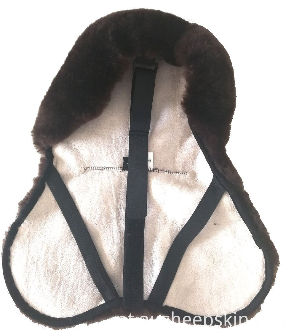 Soft Sheepskin Saddle Cover