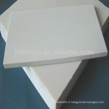 Feuille de PP / Plastique Polypropylène blanc / Feuille grise