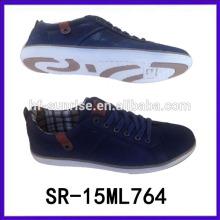 Zapatos ocasionales de los hombres ocasionales de la manera zapatos planos planos de los zapatos únicos de los zapatos