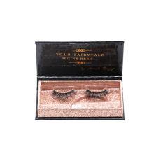 819T Hitomi Creative Eyelash Packaging High Quality Siberian Mink Eyelashes Clear Band Luxury Real Fluffy 3D Mink Eyelashes