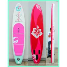 Mais vendidos em promoção de pranchas de surfe infláveis rosa adoráveis