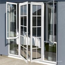 Hot Selling Metal Aluminum Electric Folding Retractable Exterior Door