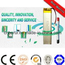 Batterie rechargeable de Lipo de polymère du lithium 3.7V 800mAh de 603048 pour le GPS